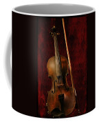 Red Violin Coffee Mug