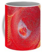 Red Whirlpool Coffee Mug