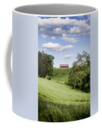 Red White And Blue Coffee Mug by Heather Applegate