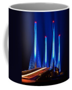 Indian River Inlet Bridge As Seen North Of Bethany Beach In This Award Winning Perspective Photo Coffee Mug