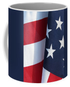 Red White And Blue Coffee Mug by Laurel Powell