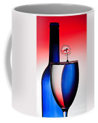 Red White And Blue Reflections And Refractions Coffee Mug by Susan Candelario