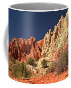 Red White And Blue Sky Coffee Mug