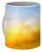 Red White Clouds Coffee Mug