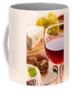 Red Wine With Cheese Coffee Mug