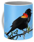 Red Wing Blackbird 2 Coffee Mug