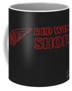 Red Wing Shoes Painted Coffee Mug