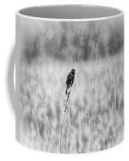 Red-wing Singing In The Marsh Coffee Mug