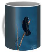 Red Winged Black Bird Coffee Mug