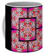 Red Winter Solstice Page Coffee Mug