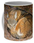 Red Wolf Coffee Mug