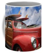 Red Woodie Coffee Mug