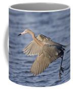 Reddish Egret Dance Fishing Coffee Mug