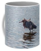 Reddish Egret Having A Bad Hair Day Coffee Mug