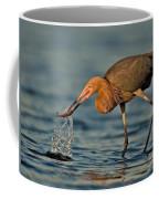 Reddish Egret Strike Coffee Mug