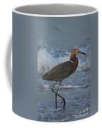 Reddish Walking The Surf Coffee Mug