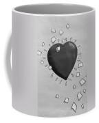 Redheart In Black And White2 Coffee Mug