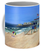Redondo Beach Lifeguard  Coffee Mug