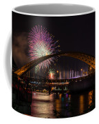 Reds Friday Night Fireworks Coffee Mug