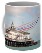 Reds Over Eastbourne Pier Coffee Mug