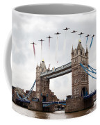 Reds Over Tower Bridge Coffee Mug