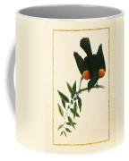 Redwing Blackbird Vertical Coffee Mug