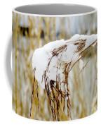 Reed With Snow Coffee Mug