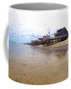 Reeds Beach Panorama - New Jersey Coffee Mug