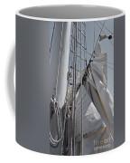 Reefing The Mainsail Coffee Mug