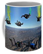 Reenlistment In The Clouds Coffee Mug