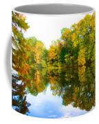 Reflected Autumn Glory Coffee Mug