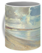 Reflected Clouds Oxwich Beach Coffee Mug