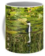 Reflecting Grebe  Coffee Mug