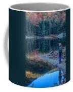 Reflecting On Fall Foliage Reflection Coffee Mug