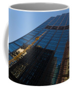 Reflecting On Skyscrapers - Downtown Atmosphere Coffee Mug