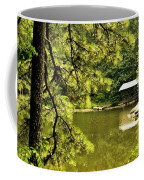 Reflecting On The Beauty Of The Woodlands Coffee Mug