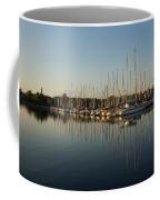Reflecting On Yachts And Sailboats Coffee Mug