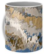 Reflection Abstraction- Two Coffee Mug