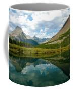 Reflection At Glacier National Park Coffee Mug