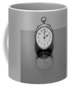 Reflection Clock Coffee Mug