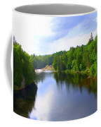 Reflection In Beaupre Quebec Coffee Mug