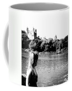 Reflection In Black And White Coffee Mug