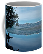 Reflection In Lake Mcdonald In Glacier National Park-montana Coffee Mug