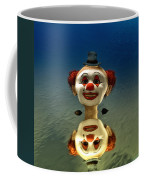 Reflection Of A Clown Coffee Mug
