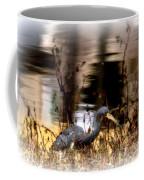 Reflection Of A Heron Coffee Mug