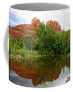 Reflection Of Cathedral Rock Coffee Mug