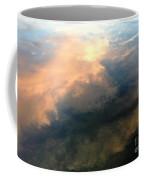 Reflection Of Clouds Coffee Mug