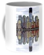 Reflection Of Downtown Nyc Coffee Mug