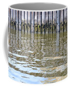 Reflection Of Fence  Coffee Mug by Sonali Gangane