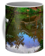 Reflection Of House On Water Coffee Mug